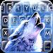 Howling Wolf Moon Keyboard Theme