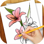 Download Learn to Draw Exotic Flowers APK