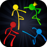 Cover Image of Download Stick Fight Online: Multiplayer Stickman Battle APK