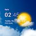 Download Transparent clock & weather APK