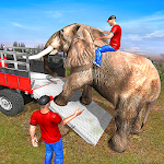 Cover Image of Download Wild Animals Transport Simulator APK