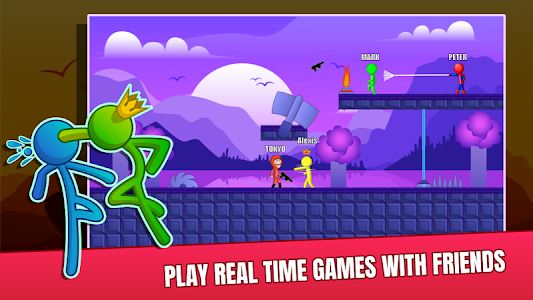Download Stick Fight Online: Multiplayer Stickman Battle APK